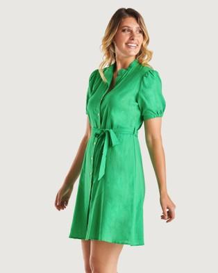 Stella Evergreen Dress - Dresses (Green)