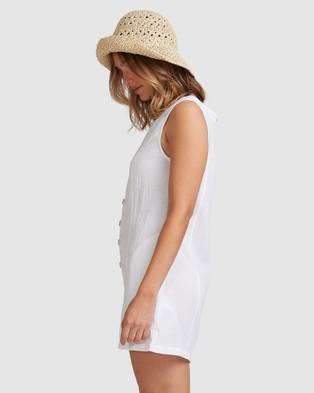Billabong Breeze Away Playsuit - All onesies (WHITE)