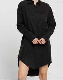 Third Form - Shadow Play Oversized Shirt Dress
