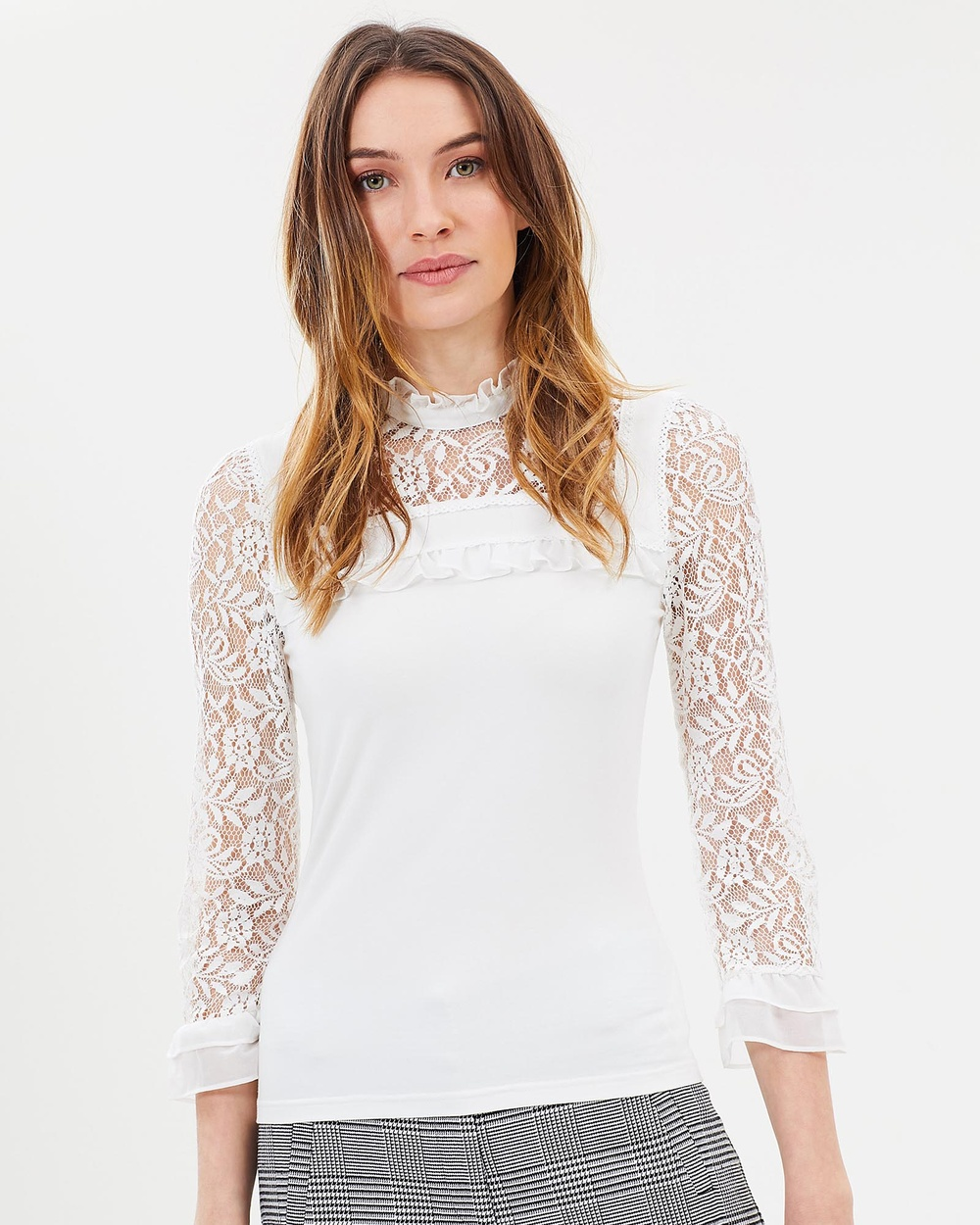 Review Richmond Top Tops Cream Richmond Top