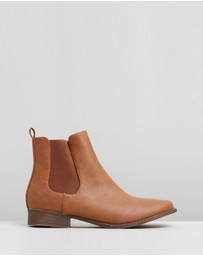 SPURR - Callie Gusset Ankle Boots