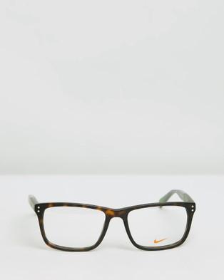 Nike NK7238 - Optical (Matte Tortoise & Green Strike)