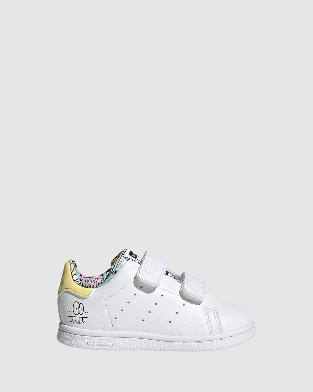adidas Originals Stan Smith Self Fastening Infant Sneakers White/Clear Sky Self-Fastening