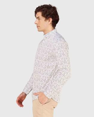 Superdry Classic Shoreditch Print Shirt - Shirts & Polos (Optic Paisley)