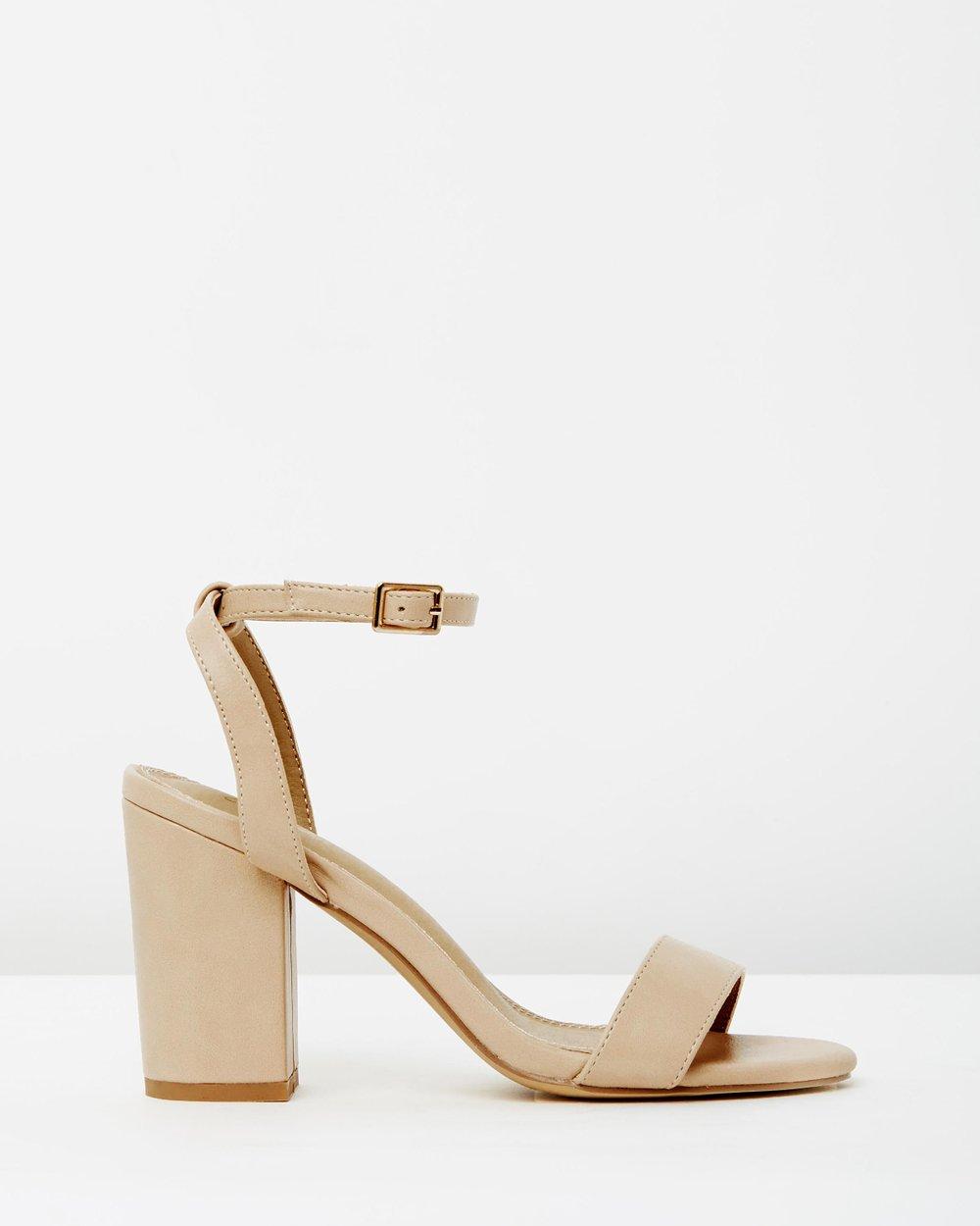 539160c04c9 Paisley Block Heels by SPURR Online
