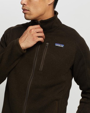 Patagonia Better Sweater Jacket - Sweats (Logwood Brown)