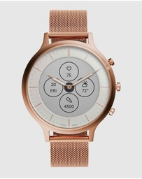 Fossil - Charter Hybrid HR Rose Gold Smartwatch