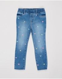 babyGap - Star Embroidered Jeggings - Babies-Kids