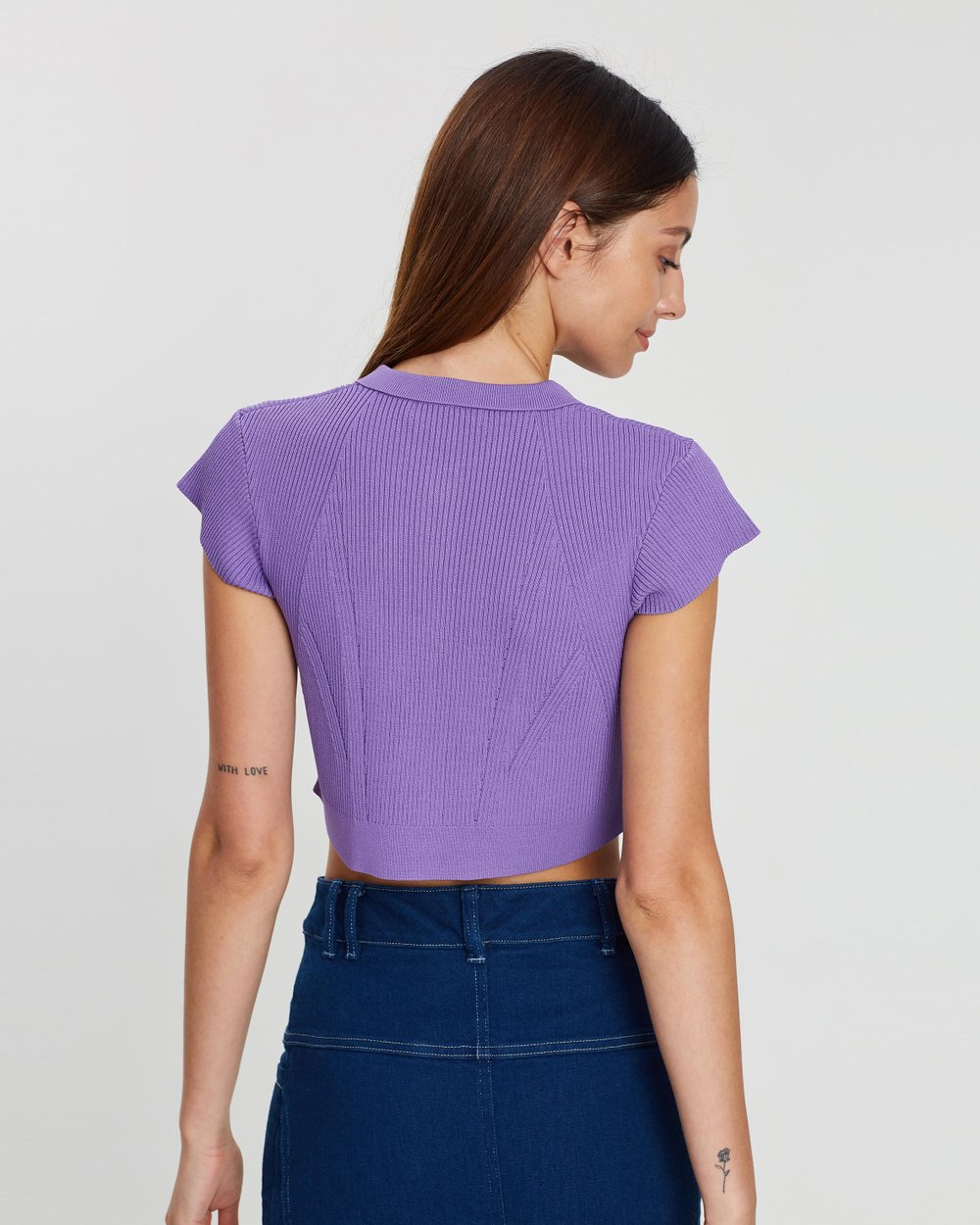 f854cc6fd84 Sublime Crop Knit Top by Manning Cartell Online | THE ICONIC | Australia