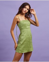 Dazie - Quinn Linen Mini Dress