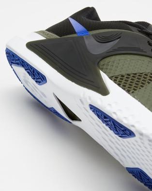 Nike Renew Fusion   Men's - Training (Twilight Marsh, Racer Blue, Black, White & Newsprint)