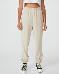 Cotton On - High-Waisted Trackpants