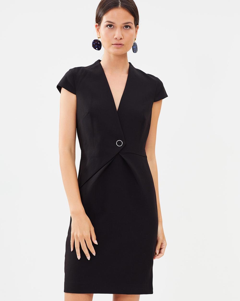 M.N.G Dusty Dress Dresses Black Dusty Dress