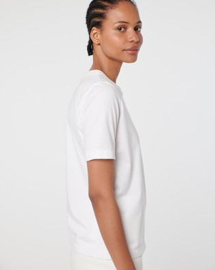 Arnsdorf Logo Tee - Short Sleeve T-Shirts (White)
