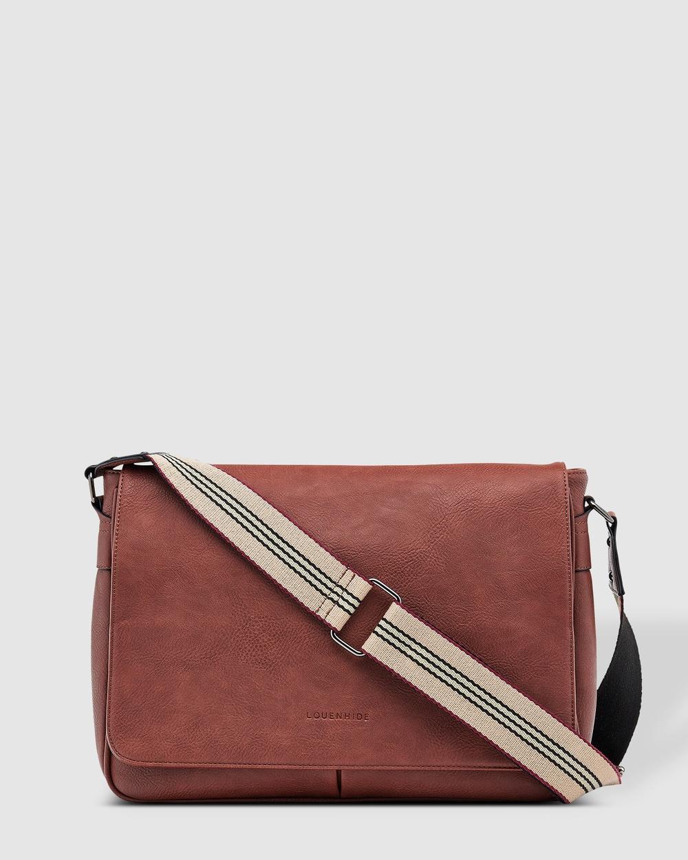 Louenhide Jordan Laptop Bag Bags Chestnut Laptop Bags Australia