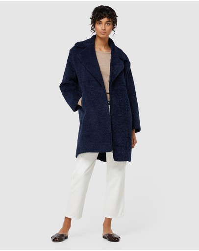 Elka Collective Mika Coat Navy