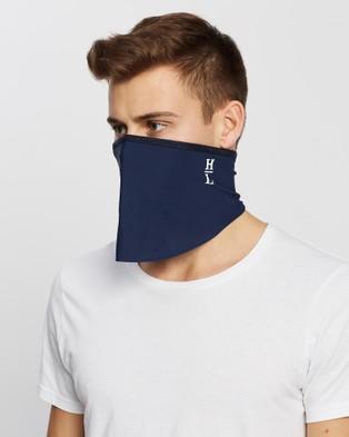 Henri Lloyd Tube Face Covering 2 Pack & Filter - Wellness (Navy)