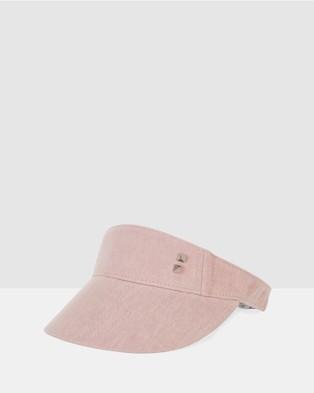 Bondi Peak - Notts Avenue Visor Hats (Pink)