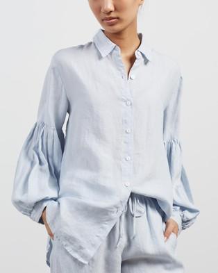Des Sen Corbusier Shirt - Tops (Light Blue)