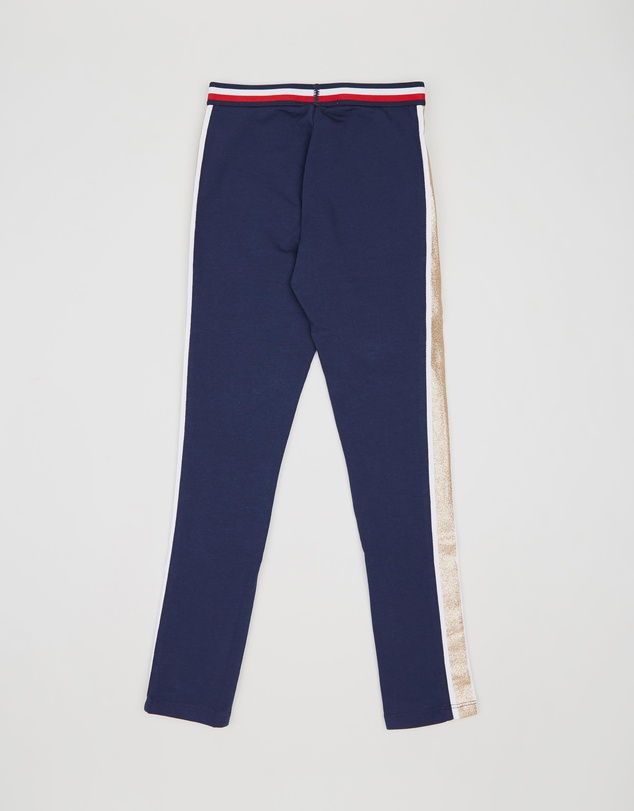 Tommy Hilfiger - Glitter Print Stripe Leggings - Teens