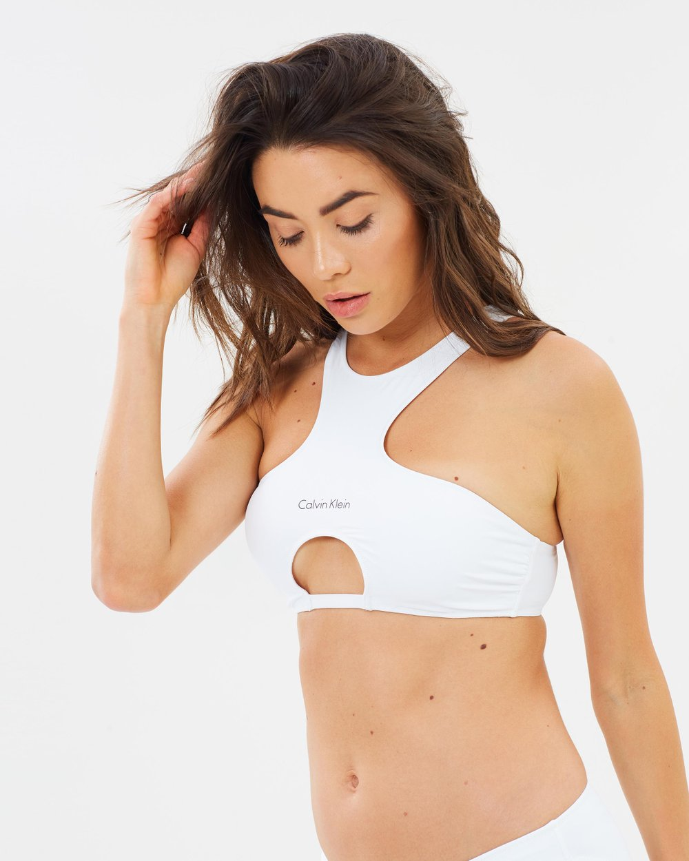 68f8549c30177 Zip Back Crop Top with Removable Padding by CK Swim Online