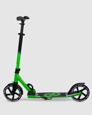 Crazy Skates SYD   Sydney City Commuter Scooter - All toys (Green)