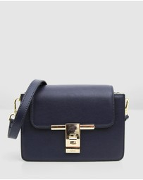 Belle & Bloom - Seattle Night Leather Cross-Body Bag