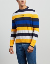Tommy Jeans - Small Text Stripe Sweater