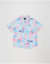 Cotton On Kids - Cotton On Kids X Kip & Co. Resort Short Sleeve Shirt - Kids