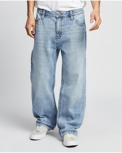 Rolla's Lazy Boy Jeans Original Stone