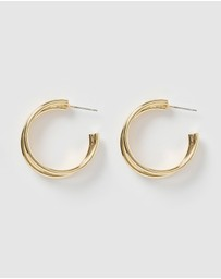 Izoa - Angie Triple Hoop Earrings