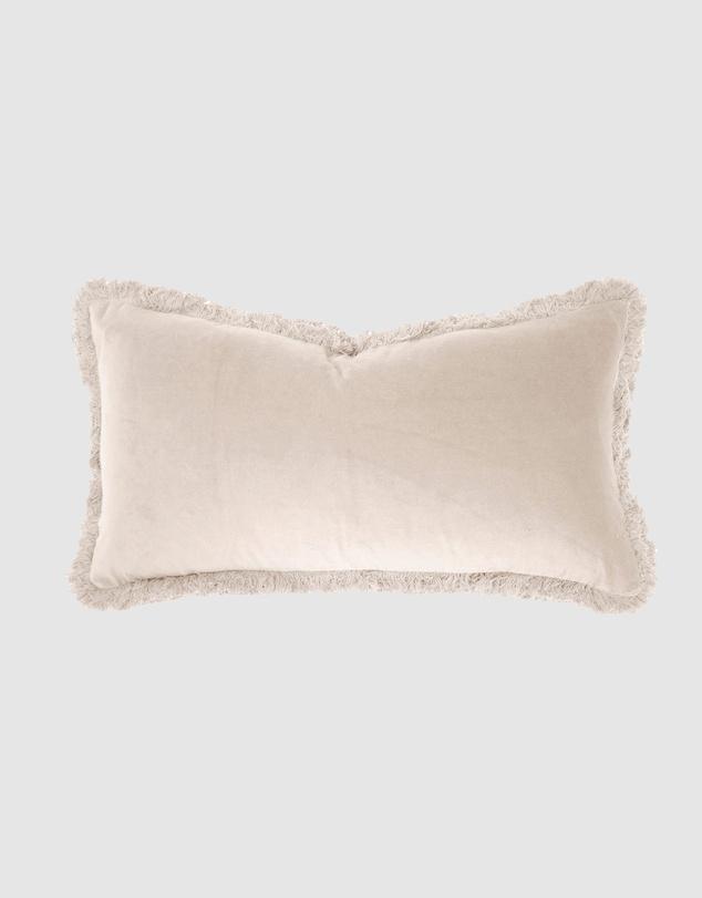 Life Velvet Rectangle Cushion