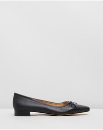 Atmos&Here - Abbie Leather Flats