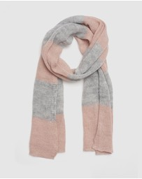 Kate & Confusion - Blocked Stripe Scarf