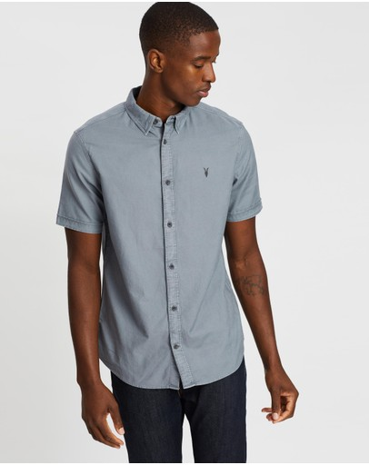 AllSaints - Hungtingdon Short Sleeve Shirt