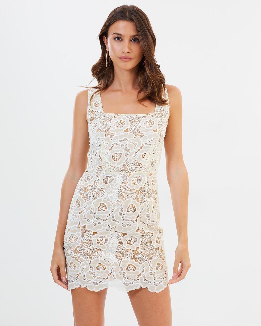Winona Countdown Mini Dress Dresses White Countdown Mini Dress