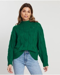 Atmos&Here - Cable Chunky Jumper