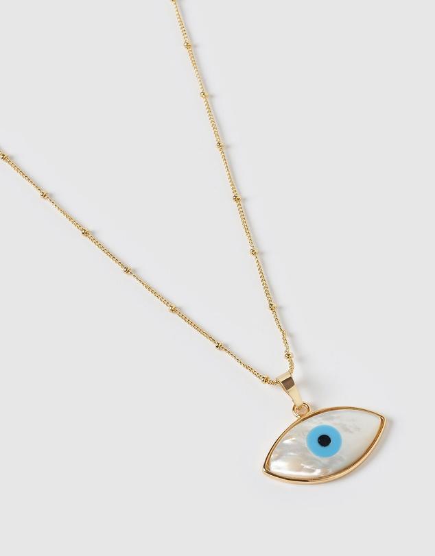 Women Gazing Pendant Necklace