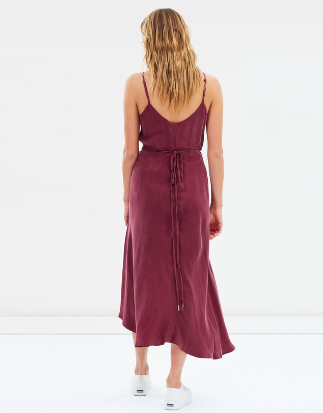 Jorge - Dahlia Wrap Dress