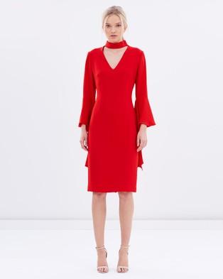 Carla Zampatti – Senorina Dress – Dresses (Red)