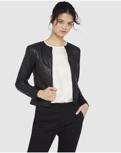 Oxford - Carly Leather Jacket