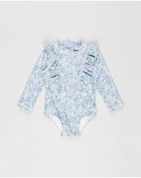 Cotton On Baby - Tori Long Sleeve Swimsuit - Babies