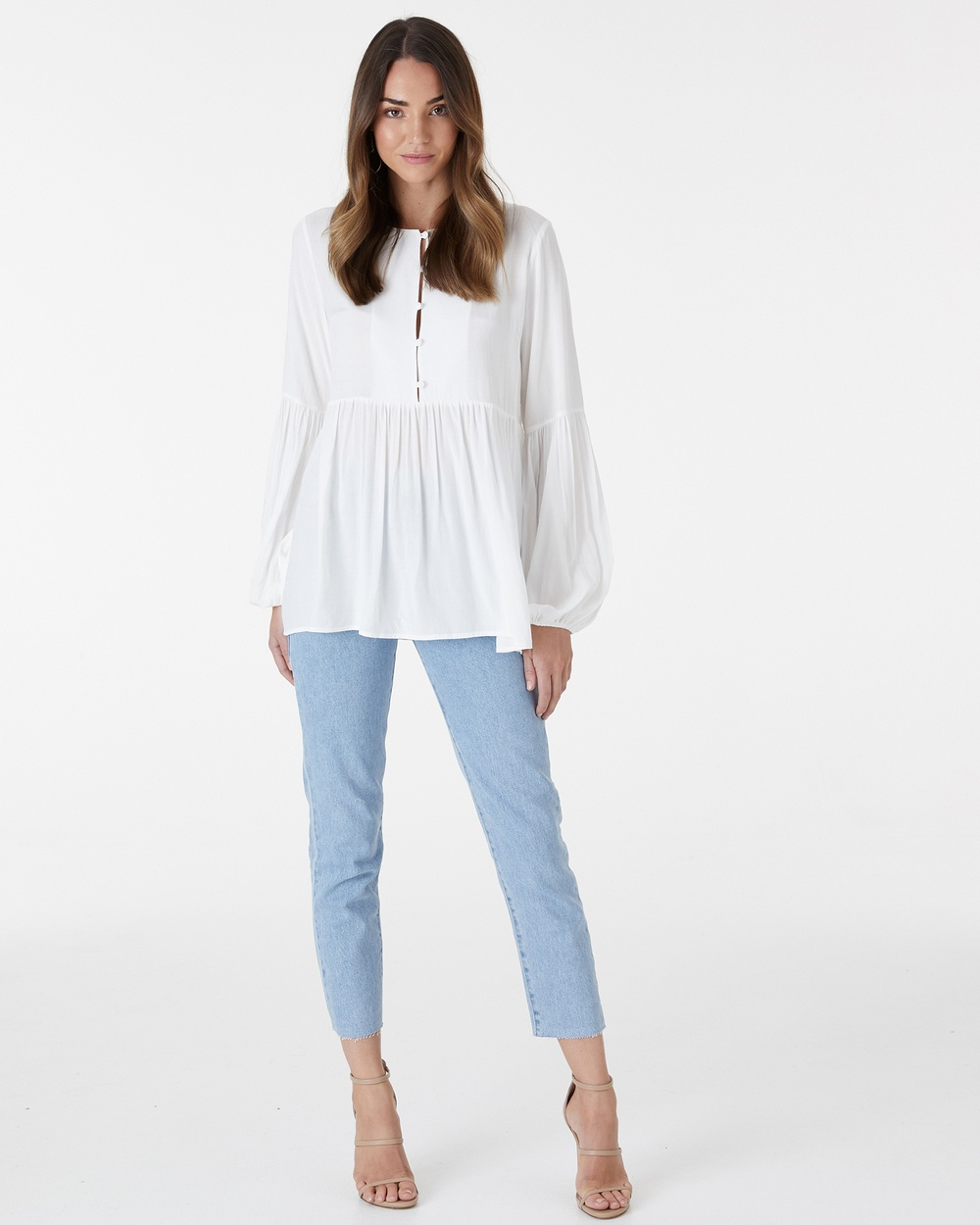 Everly Collective Rendezvous Top Tops White Rendezvous Top