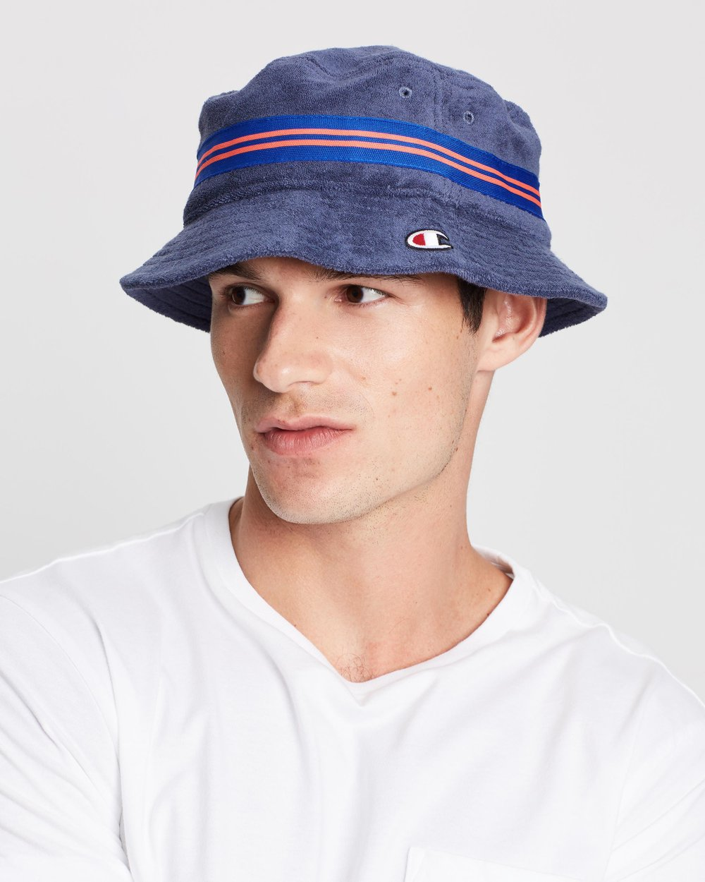 7fb58e1fd8479d Reverse Weave Bucket Hat by Champion Life Online | THE ICONIC | Australia