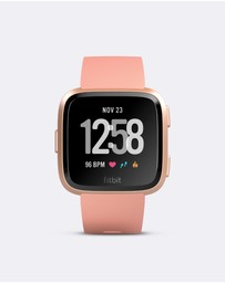 Fitbit - Fitbit Versa Watch Peach Rose Gold