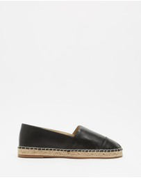 Atmos&Here - Riviera Leather Espadrilles