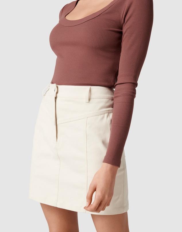 Women Haisley Cotton Mini Skirt