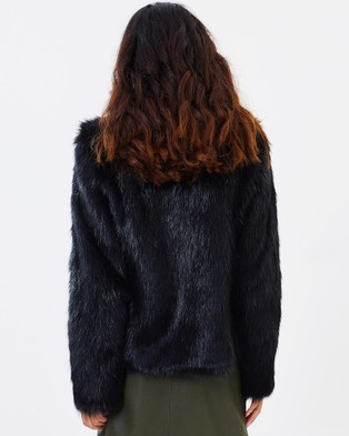 Unreal Fur Delicious Jacket - Coats & Jackets (Black)