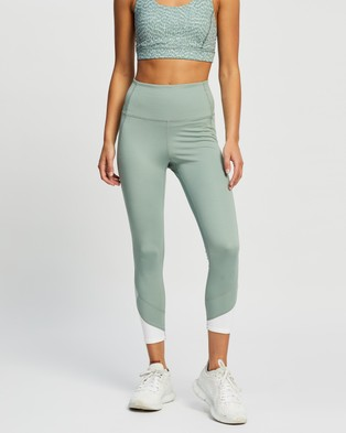Nimble Activewear On Track 7 8 Tights - 7/8 Tights (Sage)