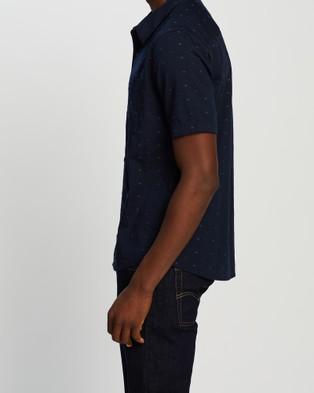 Icebreaker Compass Short Sleeve Shirt - Shirts & Polos (Midnight Navy)